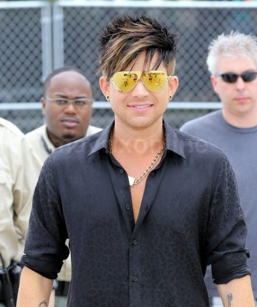 Adam Lambert South Beach Gay Pride Festival Press Conference